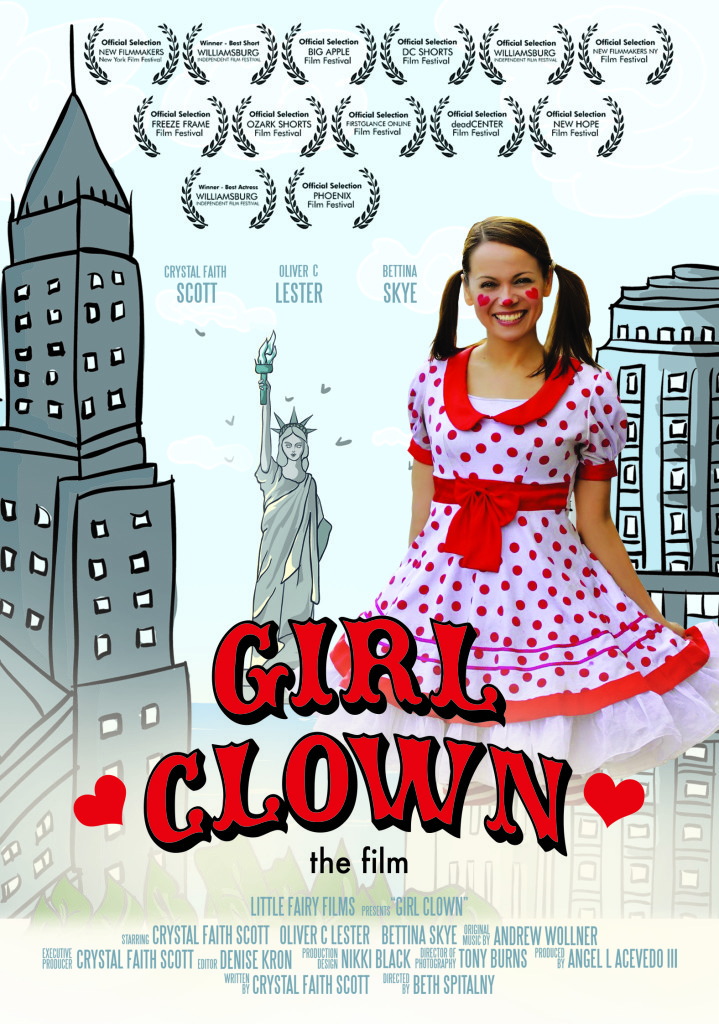 Girl Clown Short Film Poster
